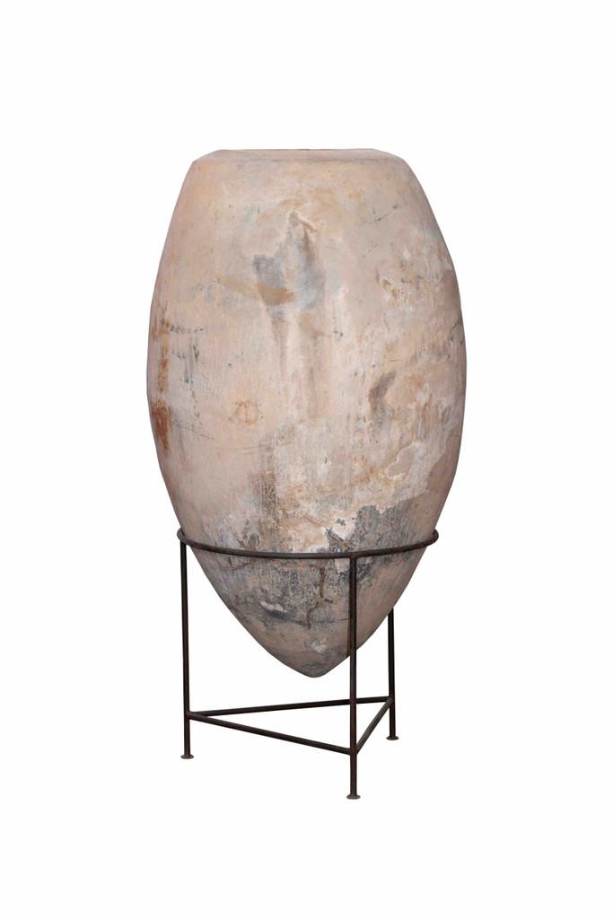 Terra Cotta Pot on Stand - 2