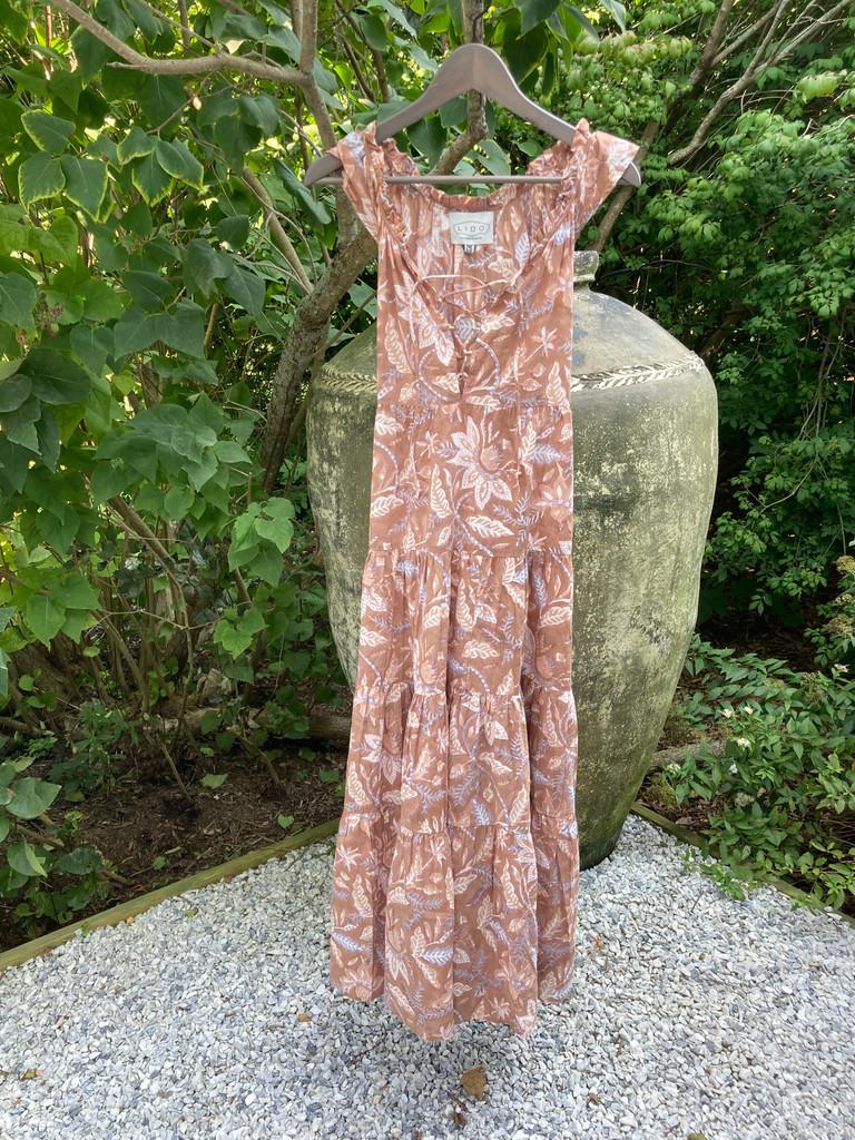 6M Dress - Tan Block