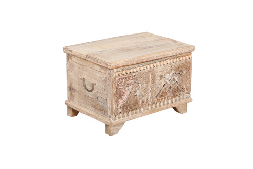 Storage Chest - Small Carved