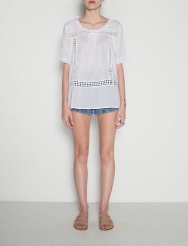 Galli Top - White Light Cotton
