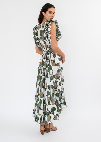 Cossette Dress - Antique Block