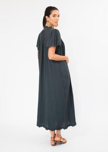 Messina Dress - Green/Black