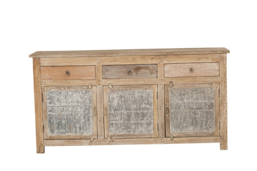 Sideboard -  3-Drawer Tin Cabinet