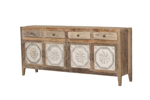 Sideboard - 4-Drawer Tin Cabinet