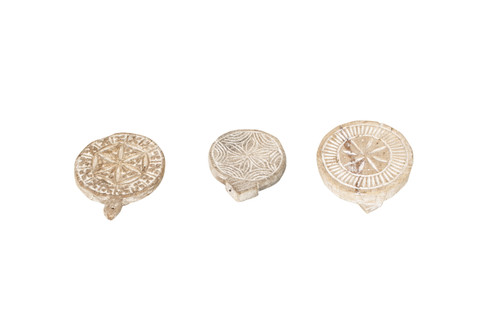 Carved Chapati Plates