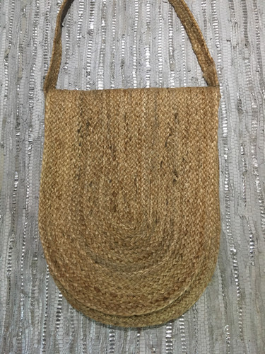 Jute Hip Satchel