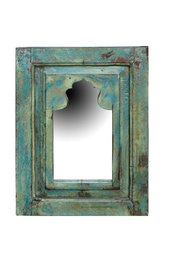 Mirrors - Blue/Green Distressed