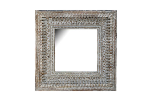 Mirror - Carved Square