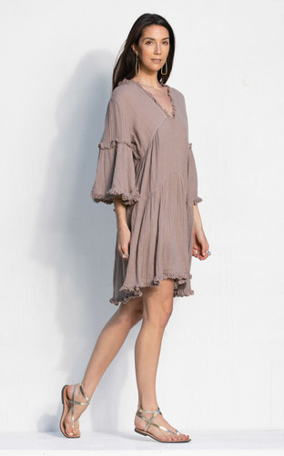 Otranto Dress - Lavender Grey