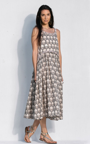 Sete Dress - Grey Artichoke