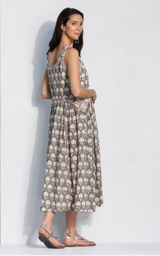 Sete Dress - Grey Artichoke