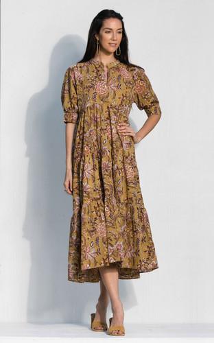 San Rafael Dress - Pear Floral
