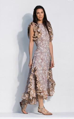 Cossette Dress - Desert Lavender