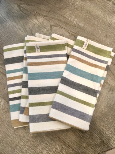 Hand Towels - Striped