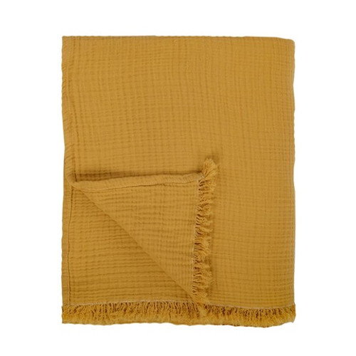 Cocoon Bed Cover / Throw Golden