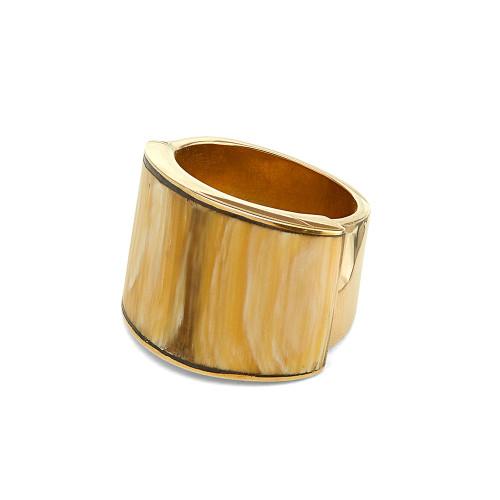 Sana Horn Band Ring