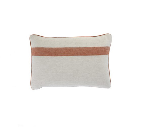 Pirine Pillow  - Ochre Stripe