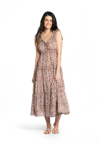 6M Dress - Pomegranate