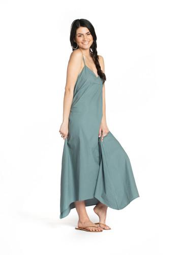 Slip Dress - Stone Blue