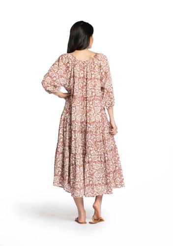 Sur Dress - Pomegranate