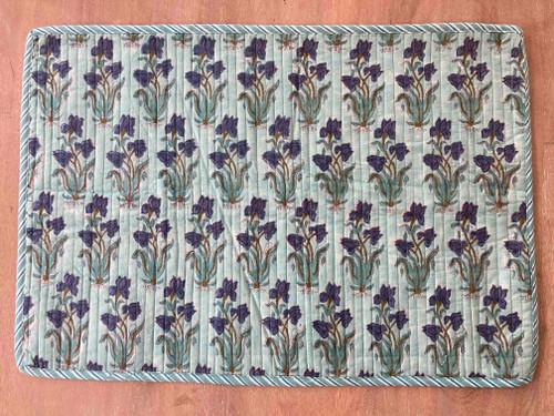 Placemats - Blue Iris - Large