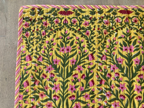 Placemats - Yellow Floral
