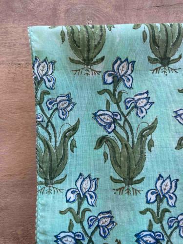 Napkins - White Iris Large