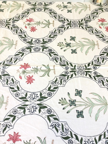 Tablecloth - Pink, Green and Blue Jengere