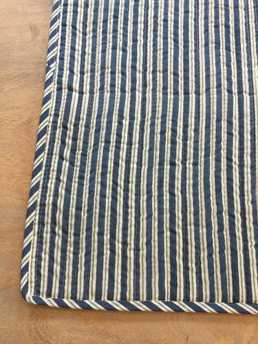Placemats - Teal, Floral and Blue Stripe