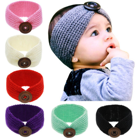 Baby Knitted Headband Head Wrap