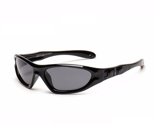 Kids Bendable Outdoor Sport Sunglasses  - Black