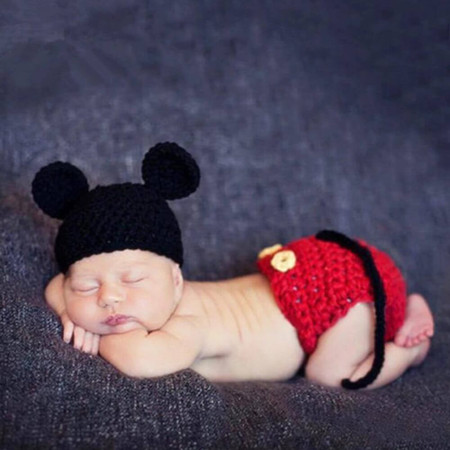 Mickey Mouse - Newborn Baby Photography Props