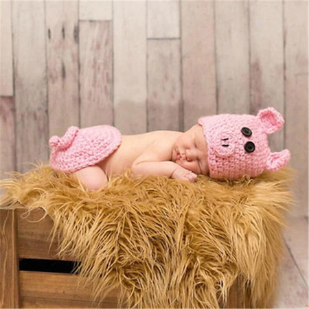 Piggy Newborn Photography Props