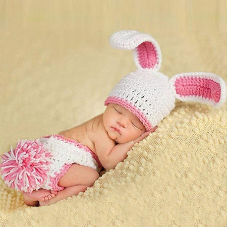Bunny Newborn Photography Props