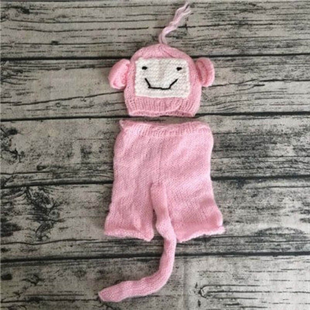 Monkey Newborn Costume Photography Prop
