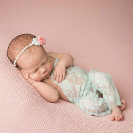 Newborn Jumpsuit Baby Photo Prop
