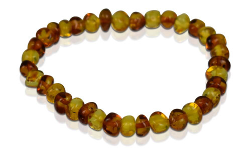 Adult Amber Bracelet - Bi-Color