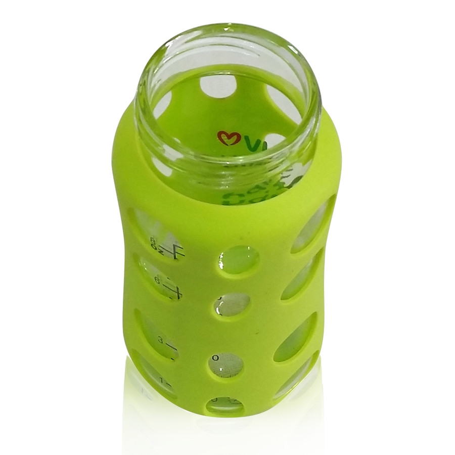 ILuvBaby 240ml Wide-neck Glass Baby Bottle Neck Opening