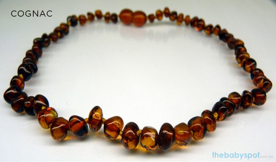 Adult Baltic Amber Necklaces - COGNAC