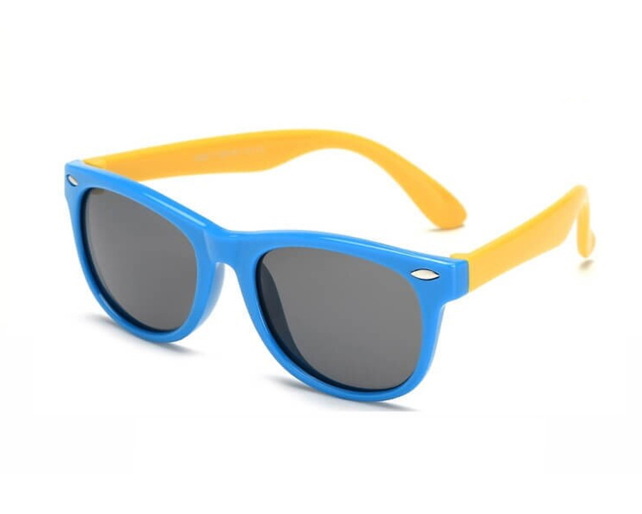 Kids Sunglasses - Blue/Yellow