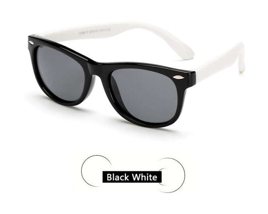 Kids Sunglasses - Black/White
