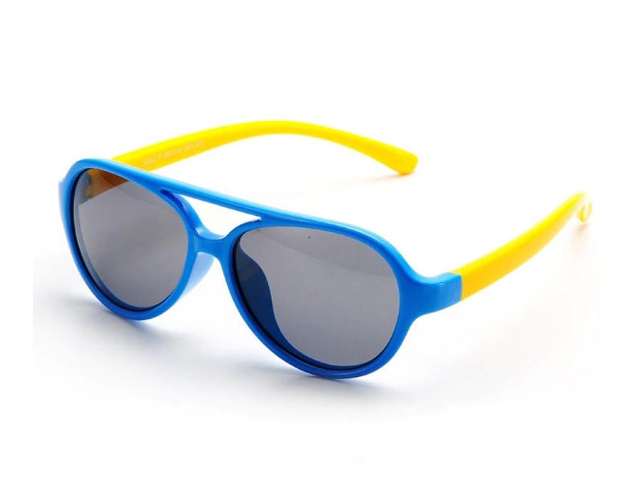Kids Bendable Oval Polarized Sunglasses