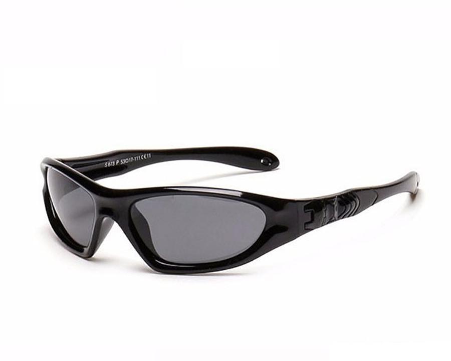 Kids Bendable Outdoor Sport Sunglasses  - Black