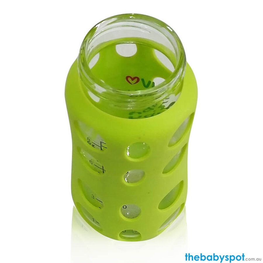 240ml Wide-neck Glass Baby Bottle Neck Opening