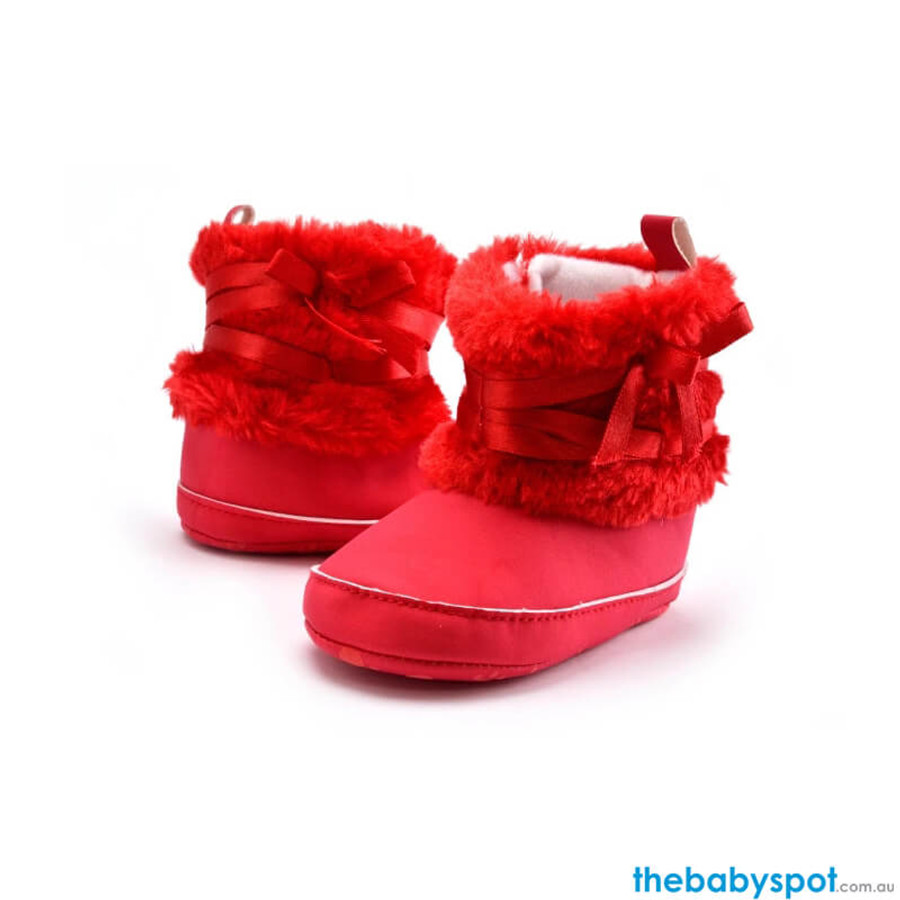Snow Winter Warm Boots - Red