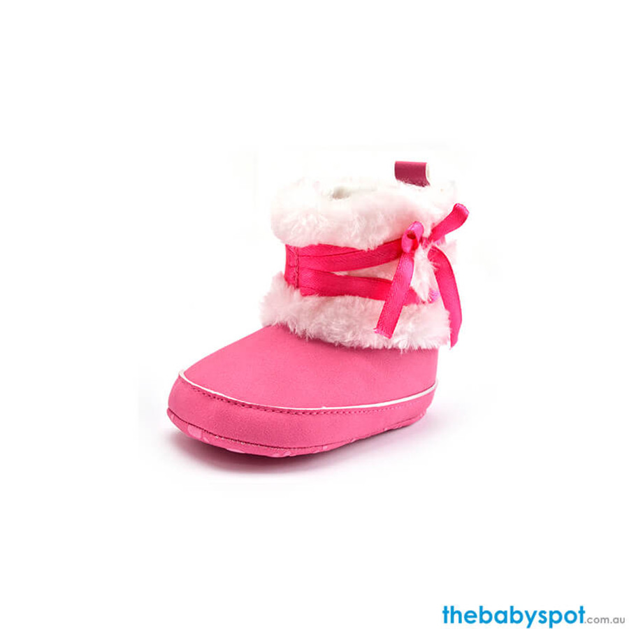 Snow Winter Warm Boots - Rose Red