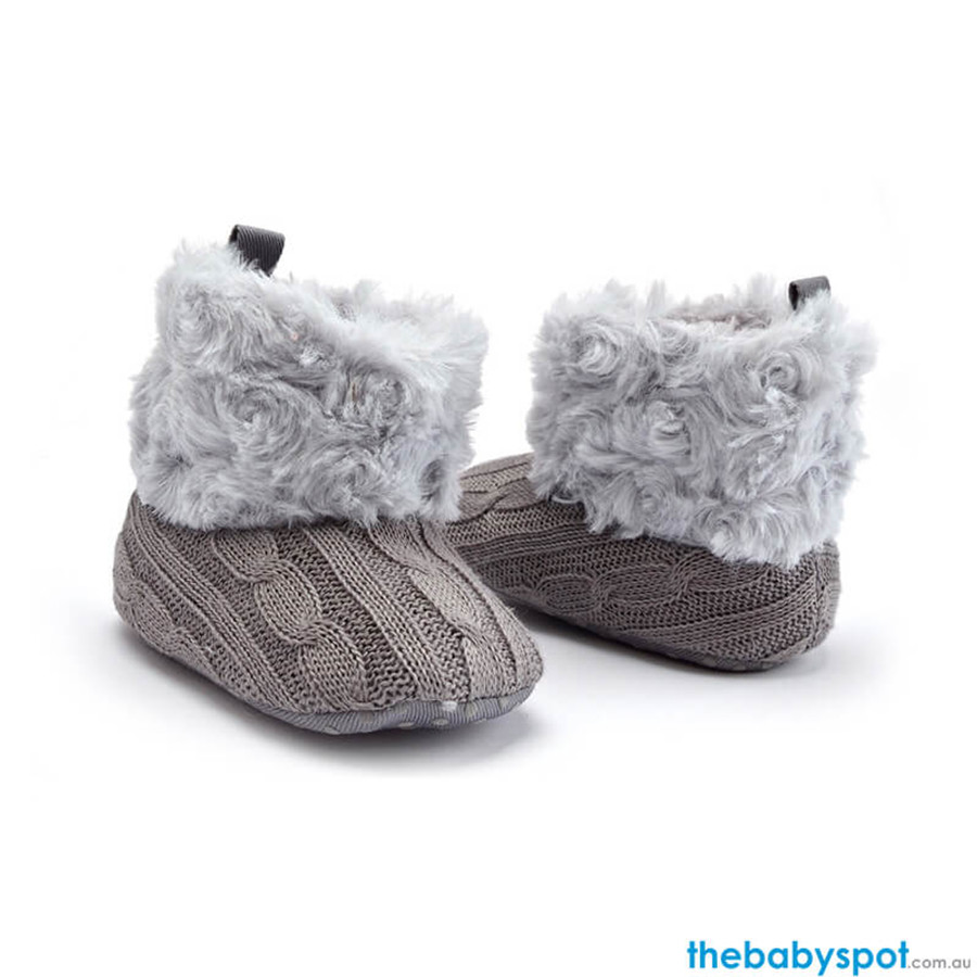 Baby Warm Boots - Gray