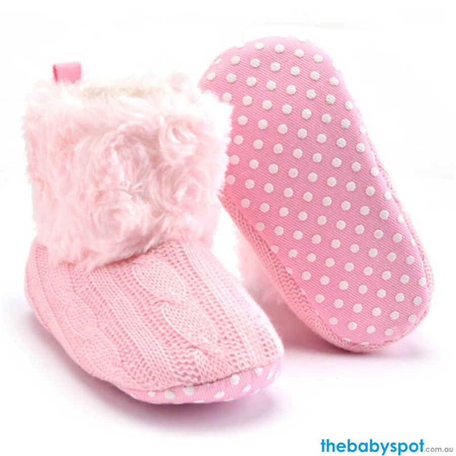 Baby Warm Boots - Pink