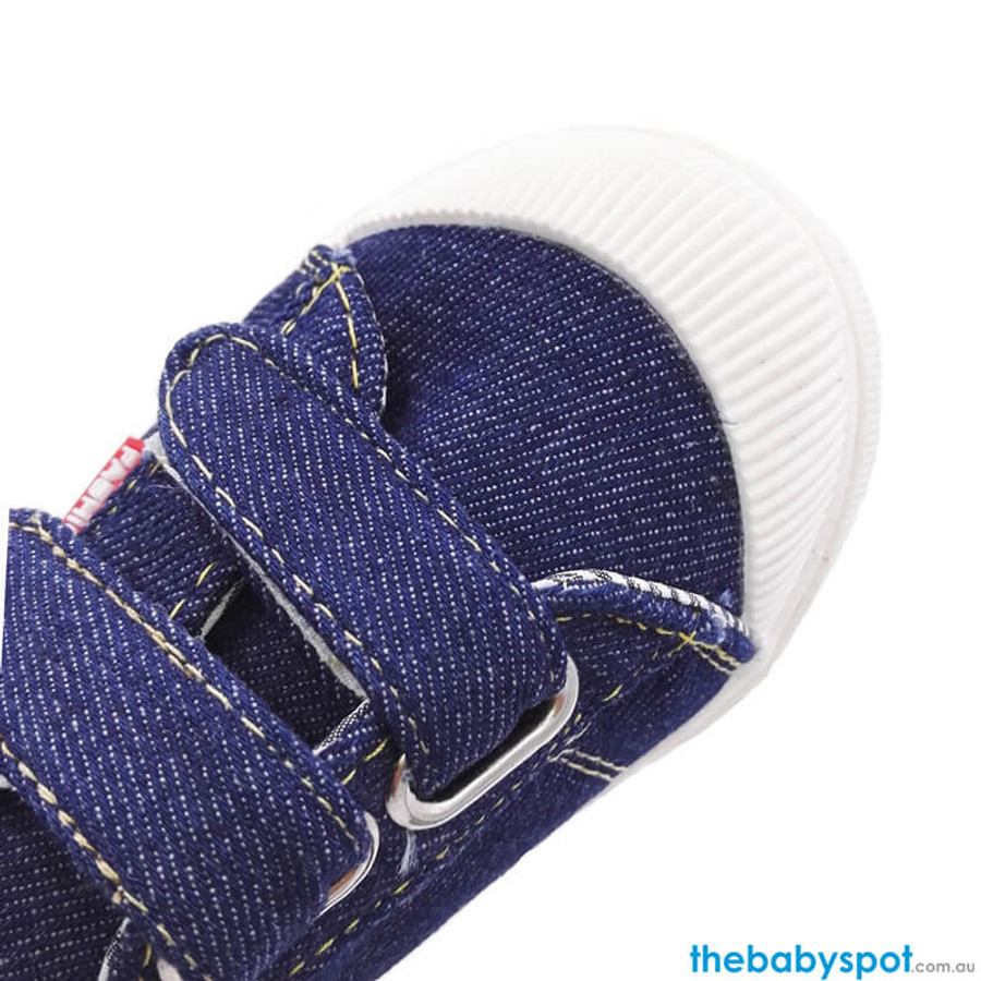 Canvas Baby Shoes - Blue