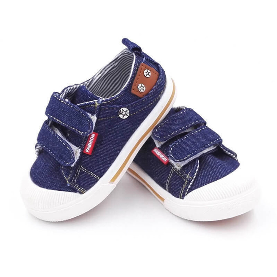 Baby Canvas Shoes - Blue